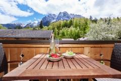 Ferienwohnung Badersee - Balkon