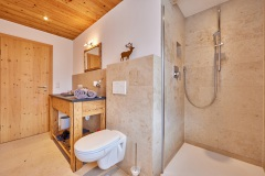 Ferienwohnung Badersee - Badezimmer