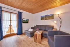 Ferienwohnung Badersee - Wohnküche
