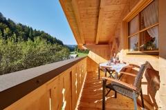 Ferienwohnung Eibsee - Balkon Süd