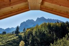 Ferienwohnung Eibsee - Ausblick Balkon Süd