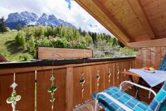 Ferienwohnung Eibsee - Balkon