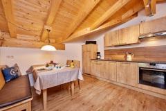 Ferienwohnung Eibsee - Wohnküche